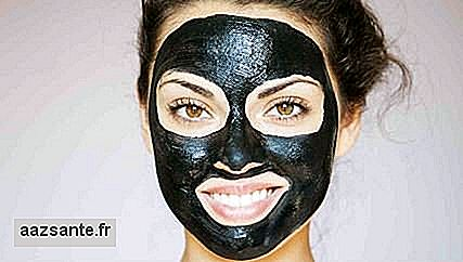 Black homemade charcoal mask: is the recipe safe?