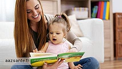 Reading and telling stories to children helps in their brain development