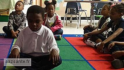 School exchanges punishment for meditation for students
