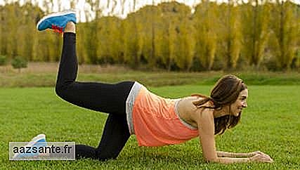 Buttock at the nape: 3 benefits of exercising this body region