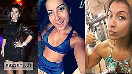 Priscila Pires shows how she lost 35 kg