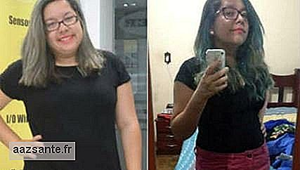 How Camila lost 17 kg: