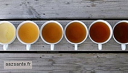 Know what tea is indicated for each hour of the day