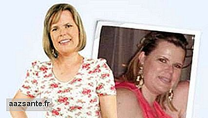 Angela Passig de Oliveira changed a life history in months and lost 16.7 kg