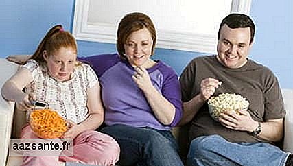 Obesity in the family can be caused by genetics and bad habits