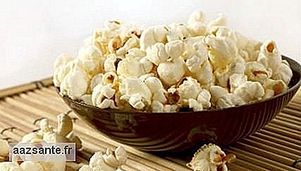 Popcorn ofera satietate si are antioxidant