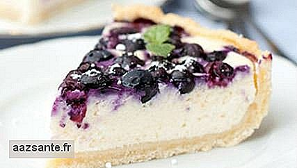 Recipes: cheesecake with grape jelly