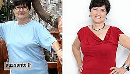 Rosa lost 12 kg even with hypothyroidism and after menopause