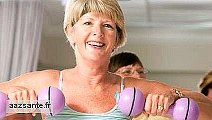 Few amounts of exercise already prevent menopausal illness