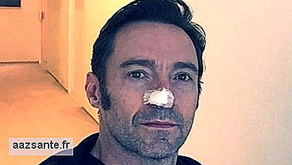 Hugh Jackman undergoes new skin cancer treatment