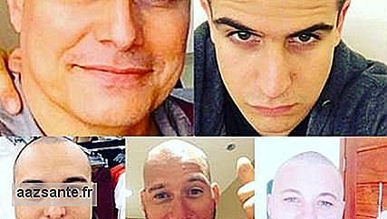 Edson Celulari's men shave their heads in support of the actor