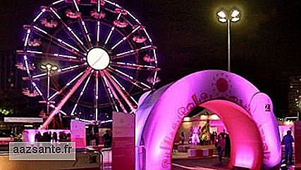 October Rosa: Ibirapuera receives event focused on breast cancer prevention