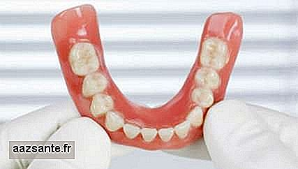 Study advises against sleeping with dentures