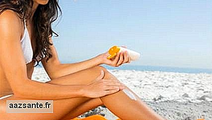 What is the ideal amount of sunscreen in every part of the body?