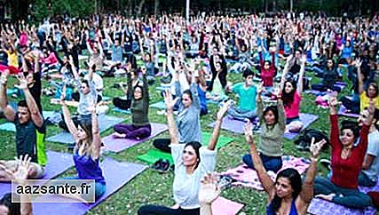 Collective meditation takes place this weekend at Ibirapuera Park