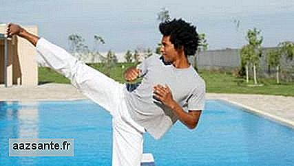 Martial arts can exacerbate stress and tension from day to day
